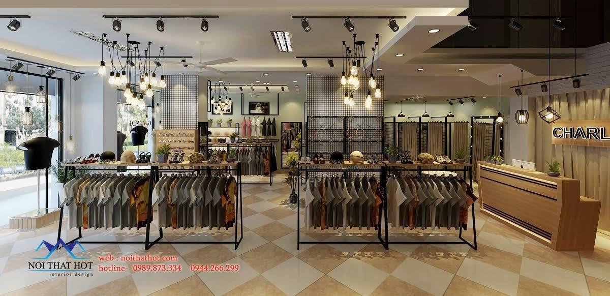 thiết kế shop thời trang đẹp nhất thái nguyên