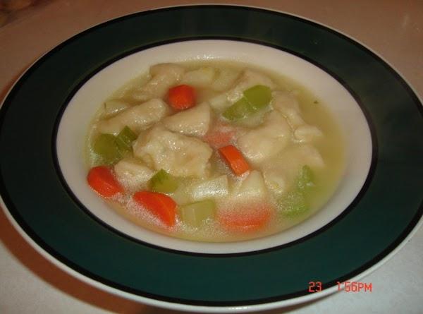 German Soup   Knoephle &  Dumplings Recipe