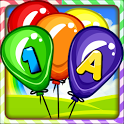 Balloon Pop Kids Learning Game Free for babies 🎈 icon