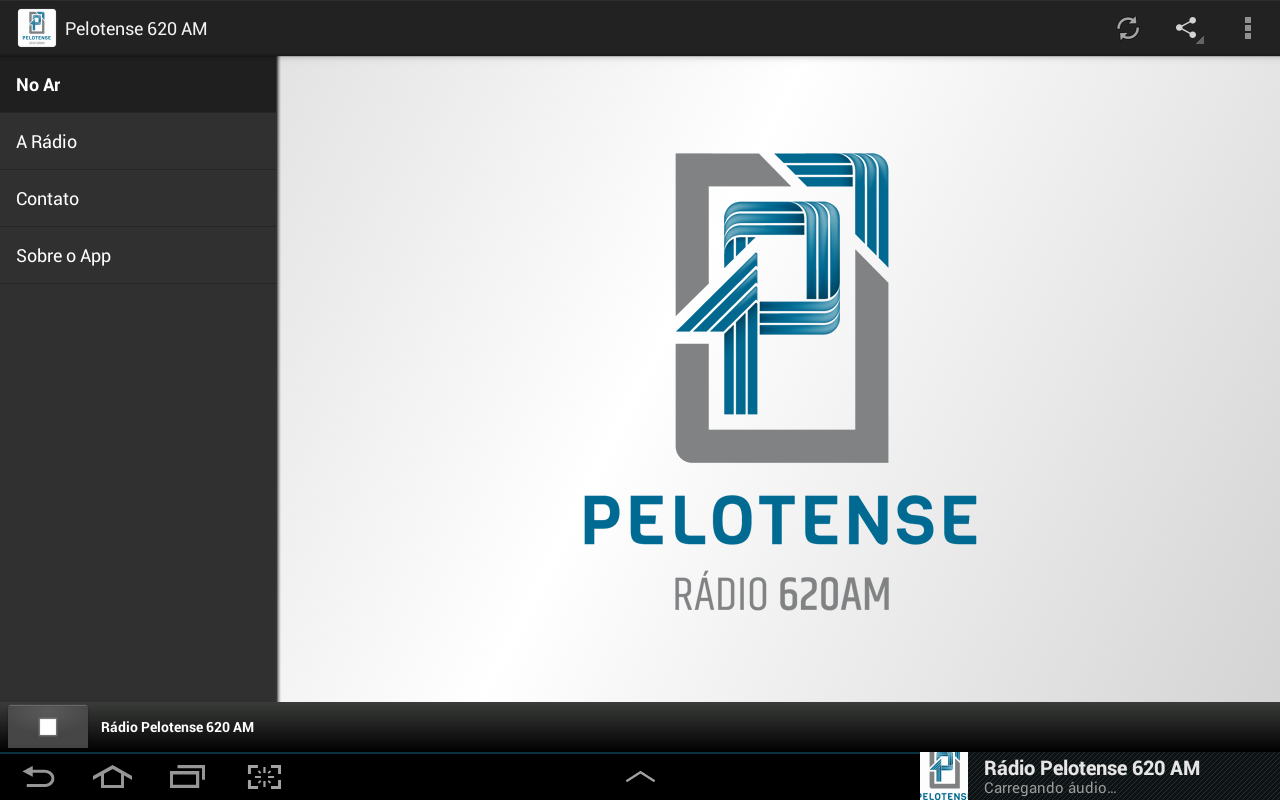 Rádio Pelotense 620 AM- screenshot