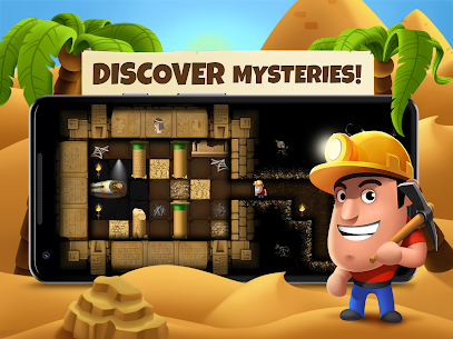Diggy's Adventure MOD Apk ( Unlimited Energy) 2