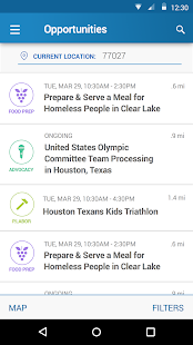 VolunteerHou- screenshot thumbnail