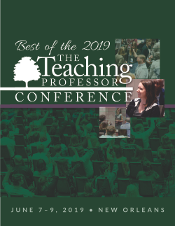 Best of the 2019 Teaching Professor Conference