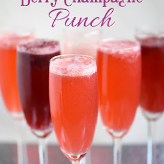 Berry Champagne Recipes
