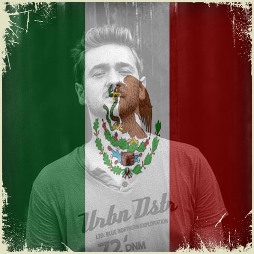 Mexico Flag On Face Maker : Photo Editor