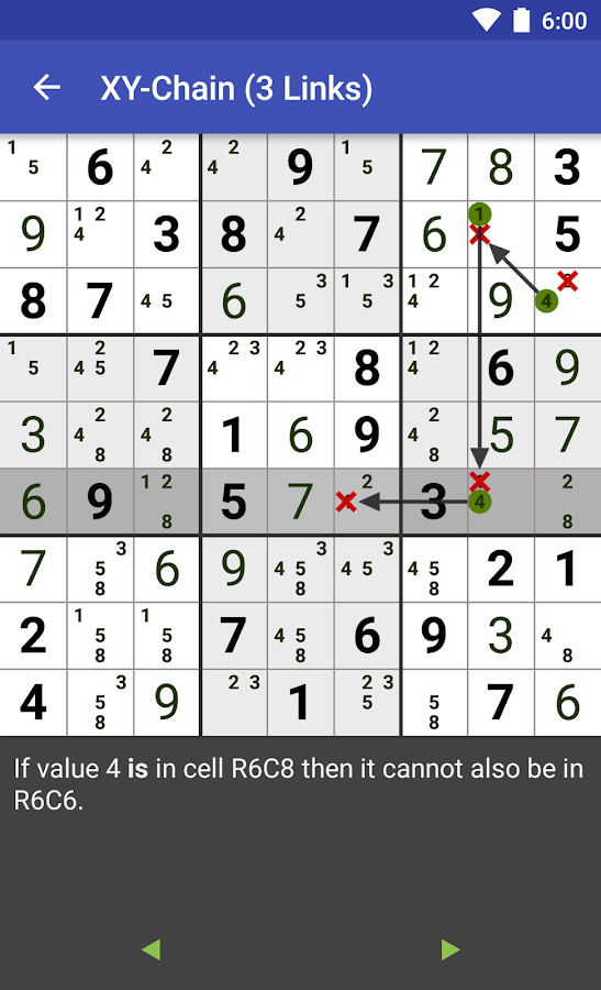 Sudoku: Andoku 3 Free- screenshot