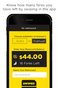 MetroCard Balance Tracker Mta screenshot 1
