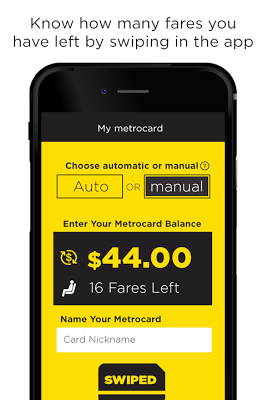 MetroCard Balance Tracker Mta - screenshot