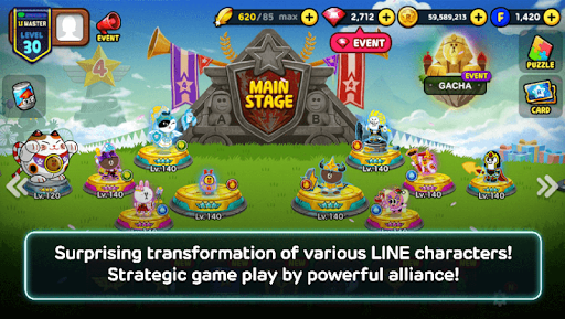 LINE Rangers 5.4.1 screenshots 2