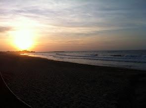 Photo: Coucher de soleil à Casablanca