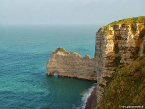 Photo: #005-Etretat. La Porte d'Amont.