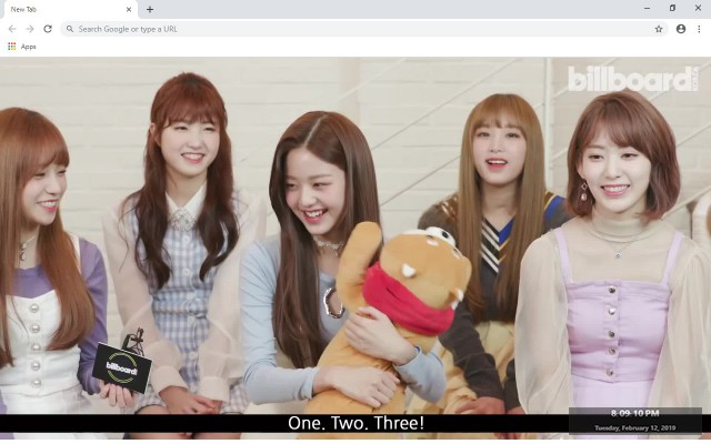 Kpop IZONE New Tab & Wallpapers Collection