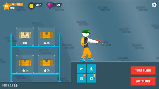 Stickman Battles: Online Shooter 1.0 screenshots 6