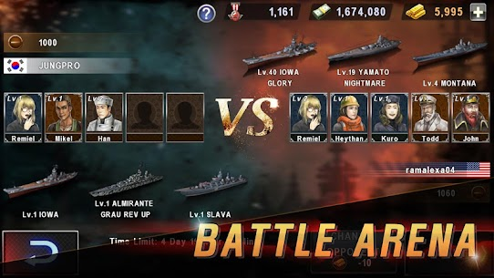 WARSHIP BATTLE:3D World War II ‏ 7