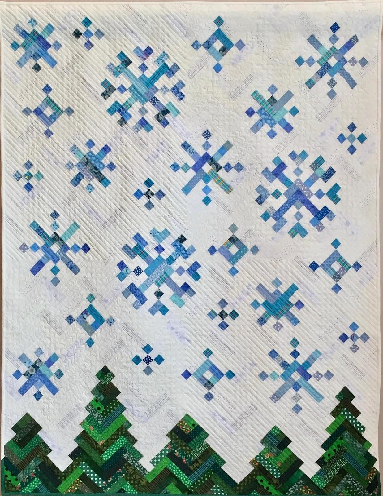 New Slant on Snowflakes Quilt