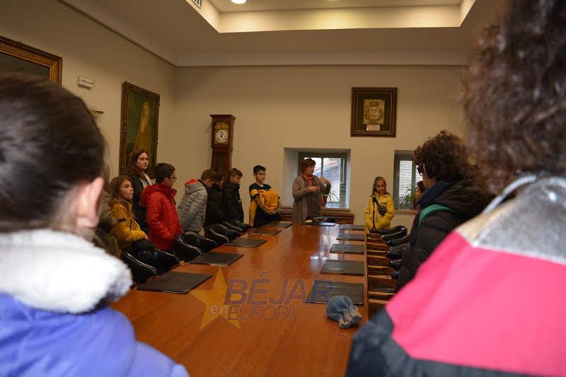 En la sala de concejales