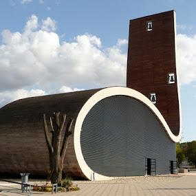church Aljmaš by Jasminka Lunjalo - Buildings & Architecture Other Exteriors ( church aljmaš croatia )
