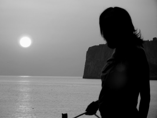 Lei al tramonto! di ottavioart