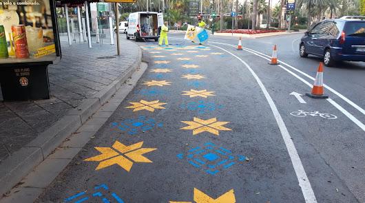 Los cambios en el Paseo reducen el tráfico diario en más del 37 por ciento