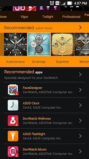 ZenWatch Manager Screenshot 4