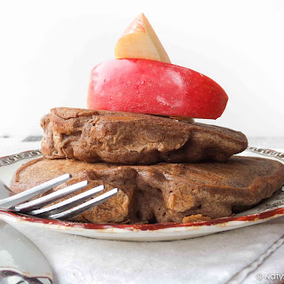 Apple Pie Buckwheat Pancakes