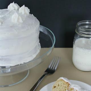 Vanilla Depression Cake