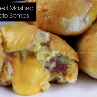 Loaded Mashed Potato Bombs
