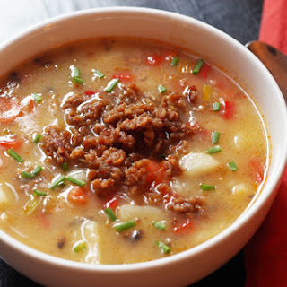 Sausage Potato Soup.