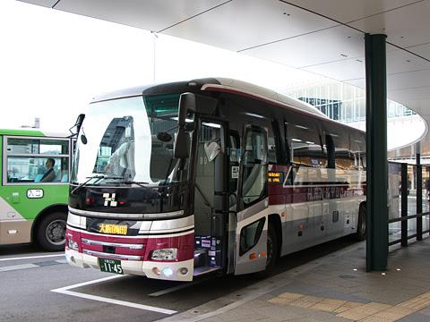 阪急バス「大阪・京都~富山線」 1145 富山駅前改札中