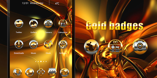 Gold Badges Solo Theme