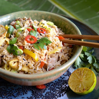 Fried Rice with Five-Spice Chicken Recipe
