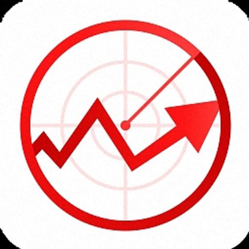股票雷达 財經 App LOGO-硬是要APP