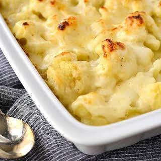 Cauliflower Gratin.