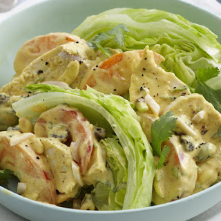 Curry Chicken Salad with Apricots