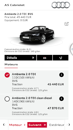 Audi Configurateur 1 7 Apk Free Lifestyle Application