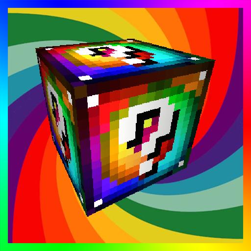 Lucky Blocks Spiral Mod for MCPE