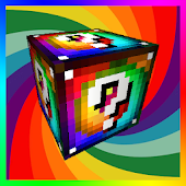 Lucky Blocks Spiral Mod for MCPE