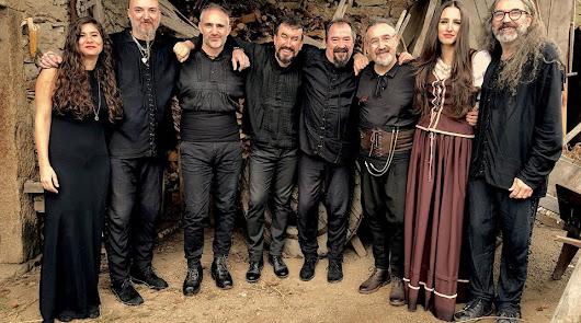 El grupo de folk gallego Luar Na Lubre en Almería