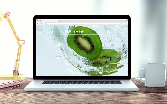 Kiwis New Tab Fruit Theme