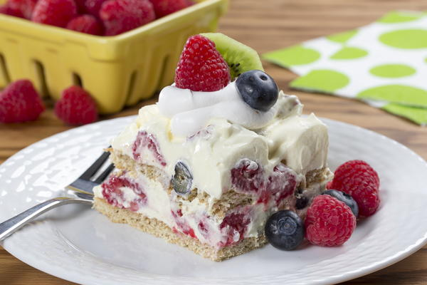 Mixed Berry Graham Pudding Recipe