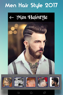 Men Hairstyle set my face 2017 - náhled