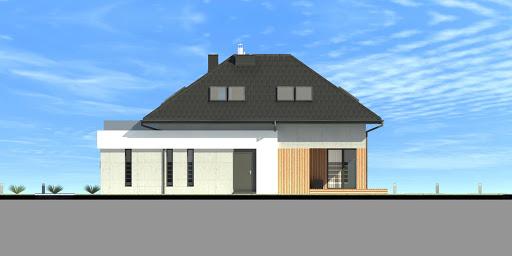 New House 7 - Elewacja prawa