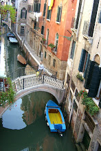 Photo: The view from our room in Venice