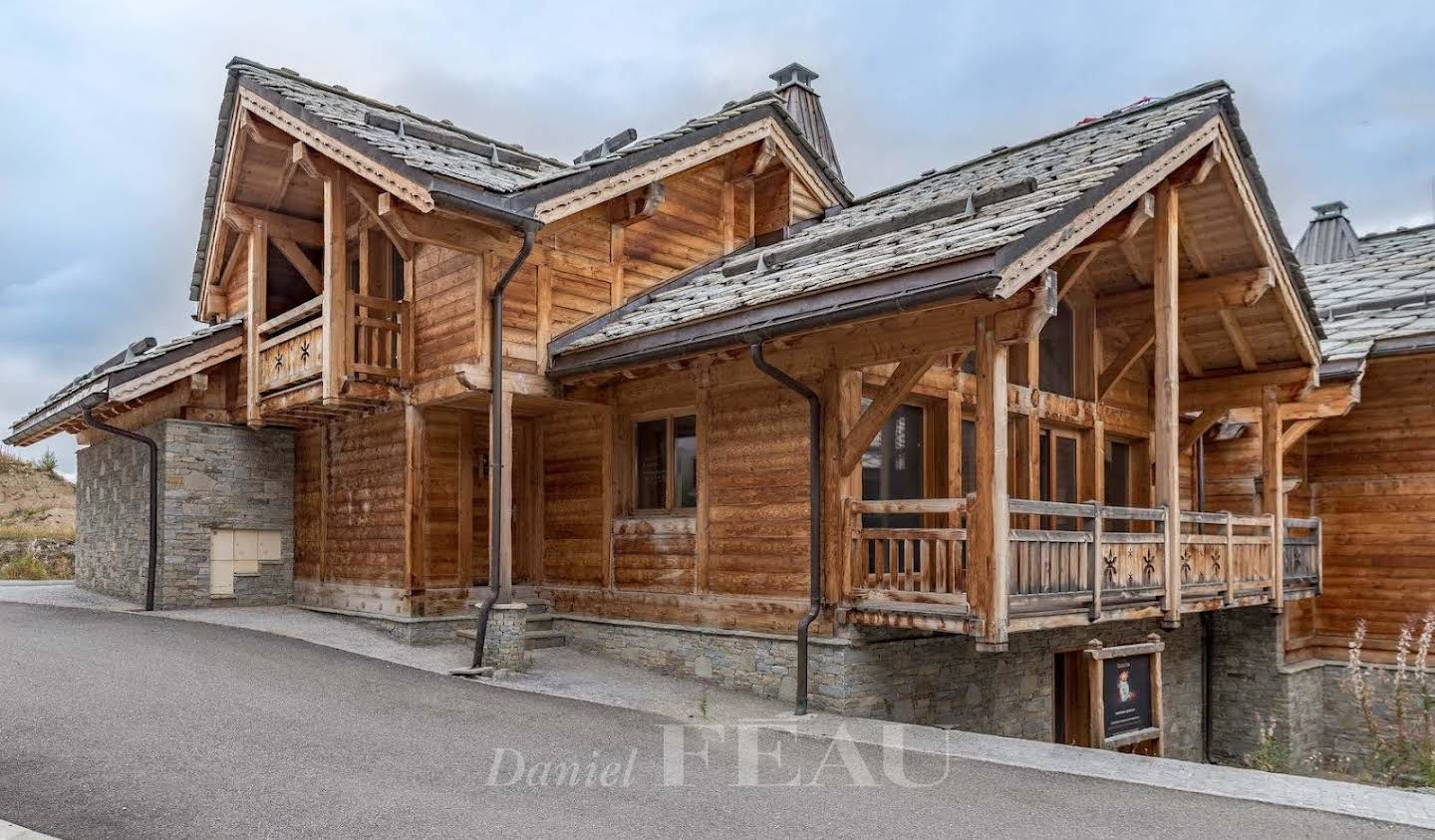 Chalet with terrace Vars
