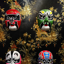 Various Mask by Steven De Siow - Artistic Objects Still Life ( artistic objects, other objects, still life, masks, mask )