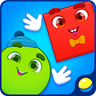 Learn Shapes. Kids Game. Toddler game about shapes icon