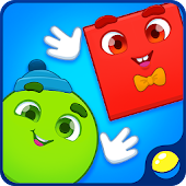 Learn Shapes. Kids Game. Toddler game about shapes