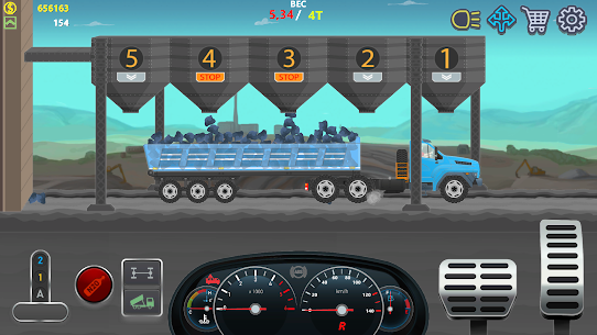 Trucker Real Wheels – Simulator MOD APK [Unlimited Money] 5