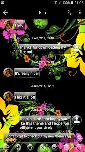 G BkFlower SMS Zprávy - náhled