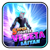 Super Fighter Vegeta Saiyan